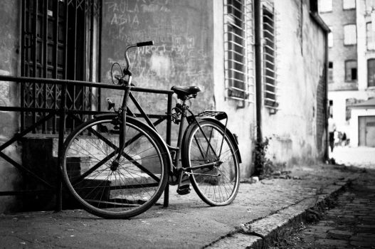 Classic Bicycle by DamianMekal