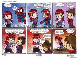 spiderchibi 35 Jealous Woman by OrangeBlueCream