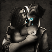 my love is vengeance... by DrowVisionary