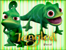 Pascal - Tangled Poster by hiroe90