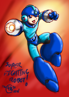 Super Fighting Robot Mega Man by Th4rlDEAL