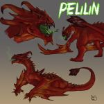 Pelilin - Colored Sketch Commish by Ucaliptic