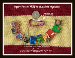 Harry Potter Stitch Markers by maryfaithpeace