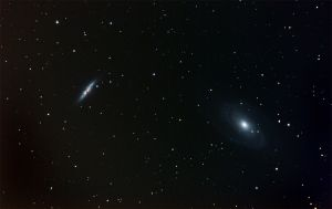 M81 and M82 by quicksimon