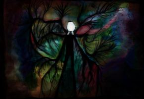 Slender Painting by TheVictimOfReality