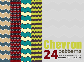 Chevron Patterns for Photoshop by giskard