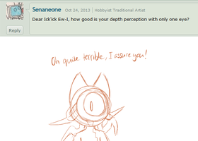 Ask the 'Devivs: Depth Perception by SmilehKitteh