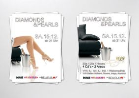 Diamonds and Pearls Party by homeaffairs
