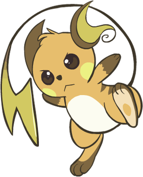 026. Raichu by HappyCrumble