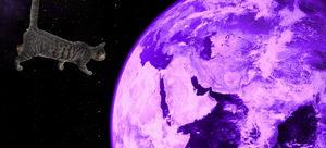 Space battle GIF 2 - Test by Ghostexorcist