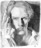 Lestat: pencil portrait by NaamahVonhell