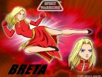 Breta Wallpaper by SpiritWarriors