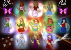 Winx Club Group by autumnrose83