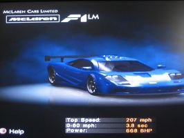 McLaren F1 LM by 00Snake