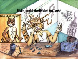 Toasterunfall by Art-Gryphon