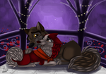 Balto and Jenna When the Storm Subsides by Elana-Louise