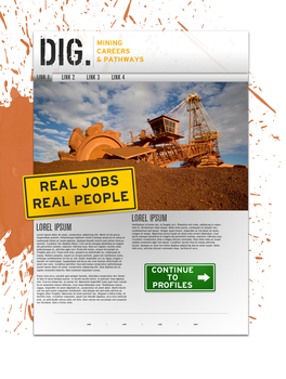 DIG Homepage Draft A by chalkley3