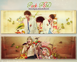 [PSD] Pack Cover Zing#2 by meowngusi