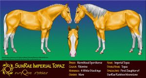SunRae Imperial Topaz by Rae134