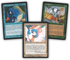 Pony Tutors --- Bant Set by feather-chan