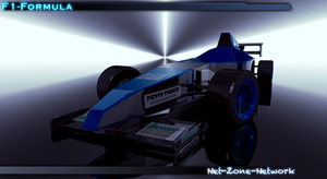 F1-Formula car by Net-Zone-Network