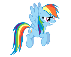 Rainbow Dash Vector by ikillyou121
