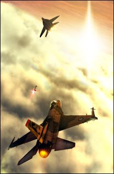 Fighter planes by MasterFGH