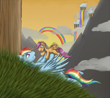 Rainbow Dash.. by Krisph