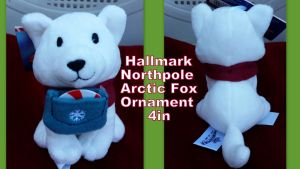 Hallmark Northpole Arctic Fox Ornament by Vesperwolfy87