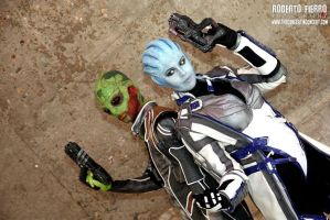 Mass Effect - Broker and Assasin by sumyuna