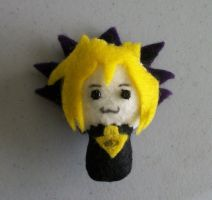 Yugi Pocket Chibi by PocketChibisAndSuch