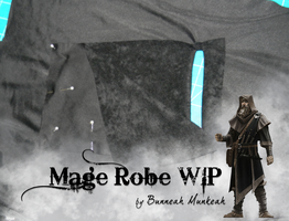 Stage 13: Mage Robe WIP by Bunneahmunkeah