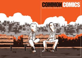 common comics 3 cover by ekato-enteka