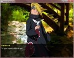 Screenshot:Akatsuki Dating sim by StekinoMai