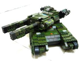 Lego Mammoth Tank 'Mix' 3 by SOS101