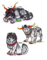 home stuck wolf pups batch 1 by Suenta-DeathGod