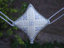Ornament of the Month - April,  Garland finish by Magical525
