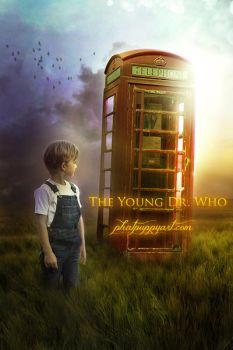 Young Dr. Who by Phatpuppyart-Studios