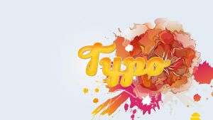 Amazing Typo Wallpaper by Romenig