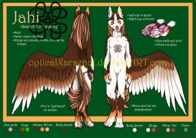 Reference-- Jahi by opticalxarsenal