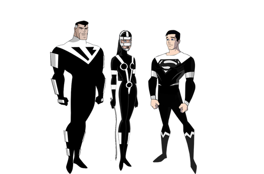 Superman Beyond, Lashina and their son by Alexbadass