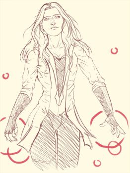 Fan art: Perfect Wanda (WIP) by Niabolla