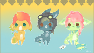 .:ALL Dem Gummi Sharks:. by Pieology