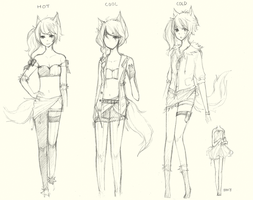 Outfits by AmberTheSatyr