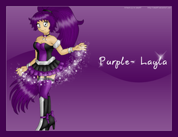 Purple- Layla by izka197