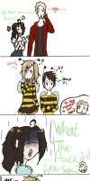 Don't diss the bumble bee sweater! by Siesta-chan