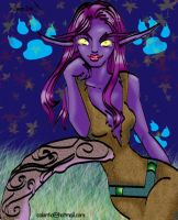 Chai Mitola of the Moonlight by calantia