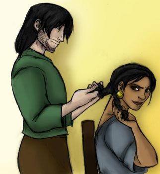 DA2 RP: Hair-braiding Crack by zeowynda