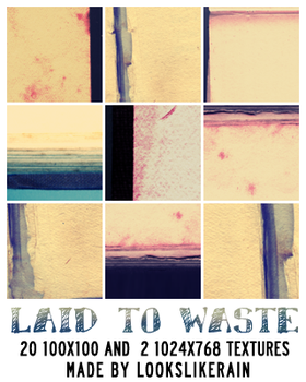 Laid To Waste by lookslikerain