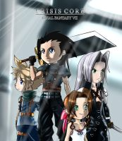 Chibi Crisis Core by NeoOeon